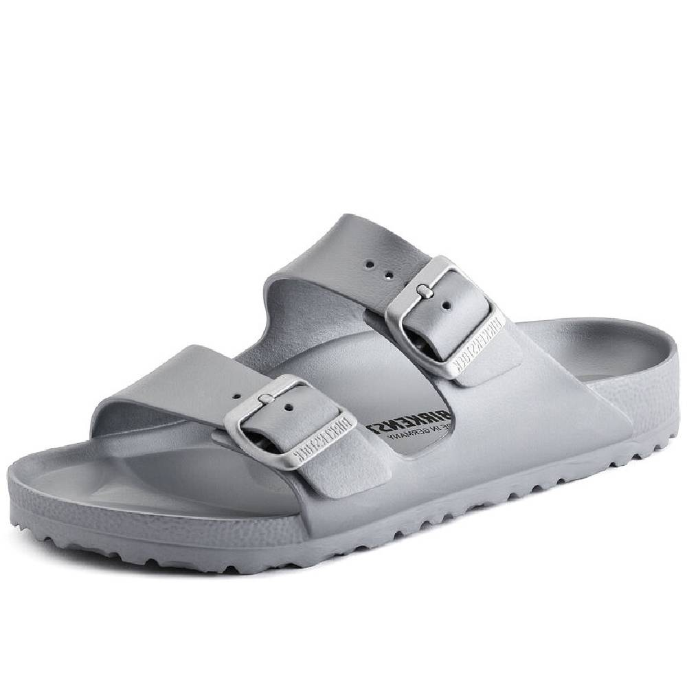 Birkenstock Arizona Eva Silver WOMEN - Footwear - Sandals BIRKENSTOCK Teskeys