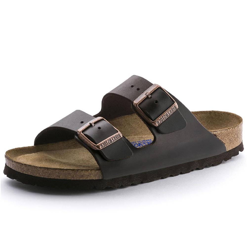 Birkenstock Arizona Amalfi Brown WOMEN - Footwear - Casuals BIRKENSTOCK Teskeys