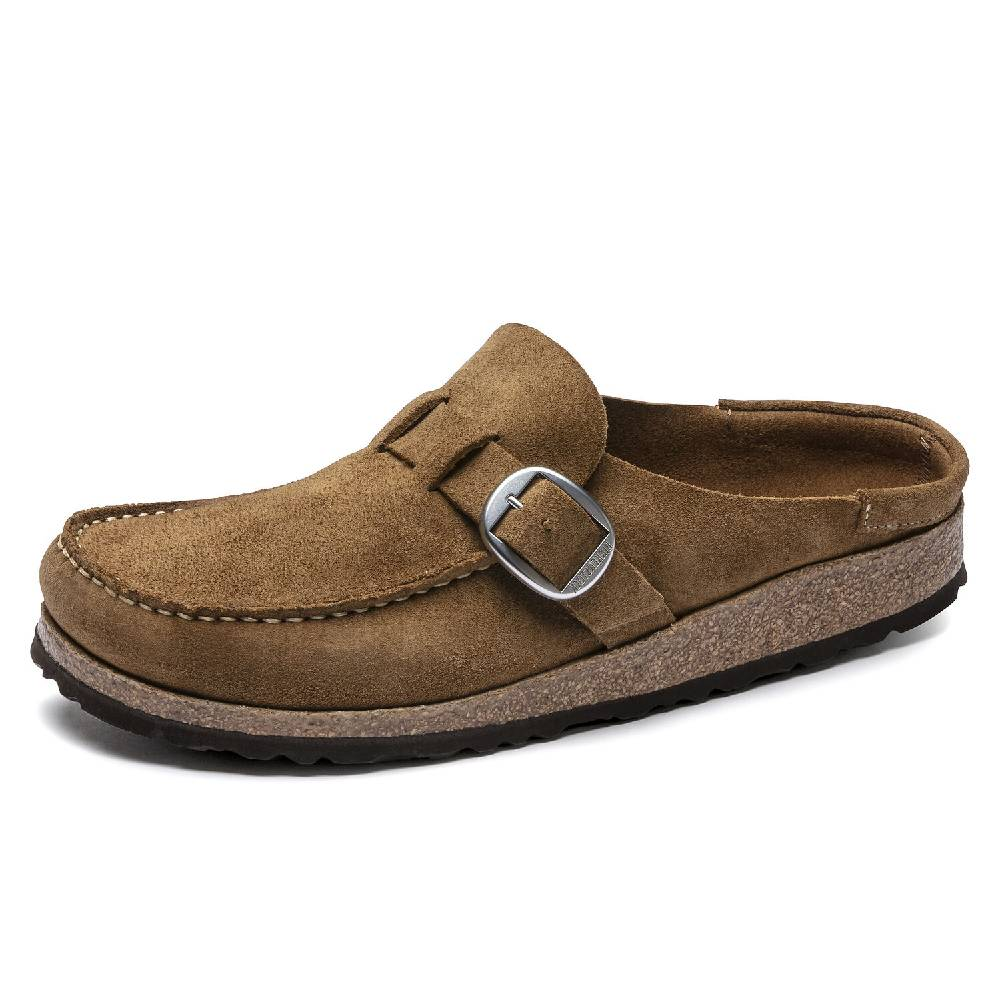 Birkenstock Buckley Suede Leather Slip On WOMEN - Footwear - Casuals BIRKENSTOCK Teskeys