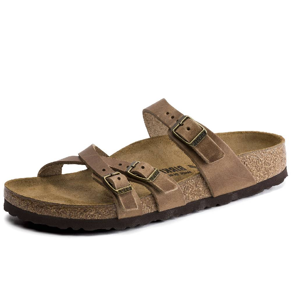 Birkenstock Franca Tobacco Brown WOMEN - Footwear - Sandals & Flip Flops BIRKENSTOCK Teskeys