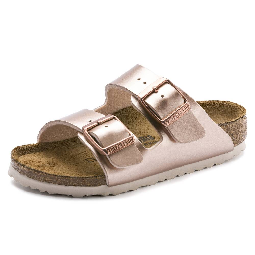 Birkenstock Kids Arizona Electric Copper KIDS - Girls - Footwear - Flip Flops & Sandals BIRKENSTOCK Teskeys