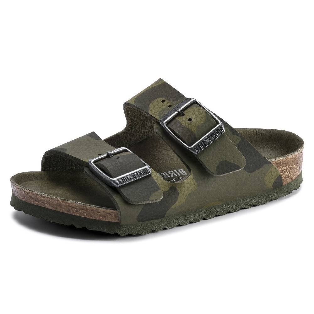 Birkenstock Kids Arizona Camo KIDS - Girls - Footwear - Flip Flops & Sandals BIRKENSTOCK Teskeys