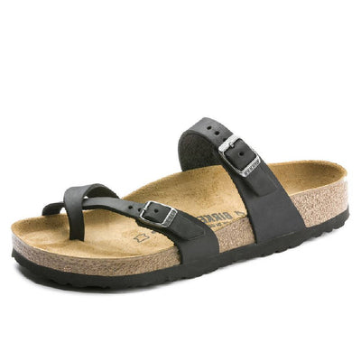Birkenstock Mayari Black WOMEN - Footwear - Sandals BIRKENSTOCK Teskeys
