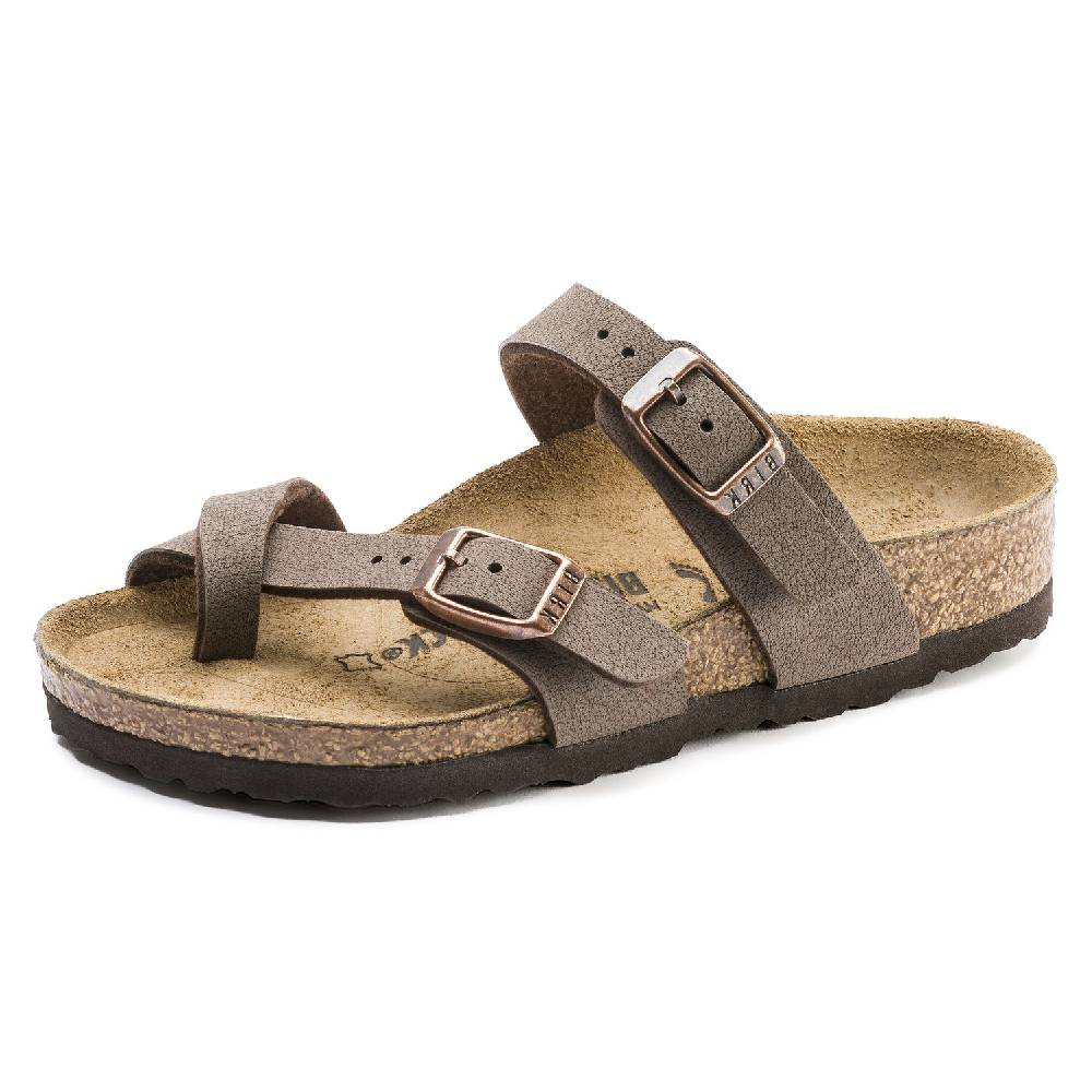 Birkenstock Kids Mayari Narrow Mocha KIDS - Girls - Footwear - Flip Flops & Sandals BIRKENSTOCK Teskeys