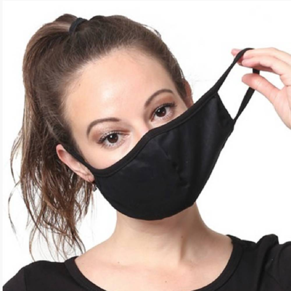 Black Washable Face Mask WOMEN - Accessories - Small Accessories Ninexis Teskeys