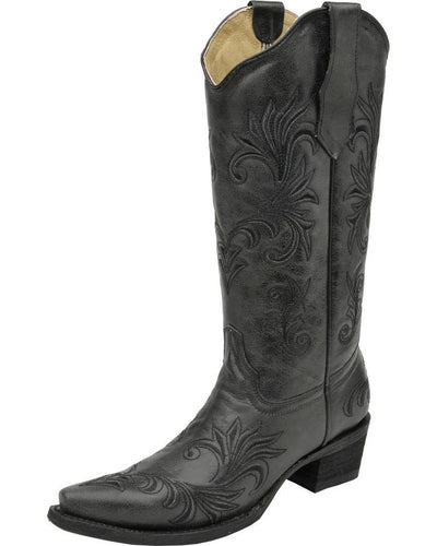 Corral Black Filigree Boot WOMEN - Footwear - Boots - Western Boots CORRAL BOOTS Teskeys
