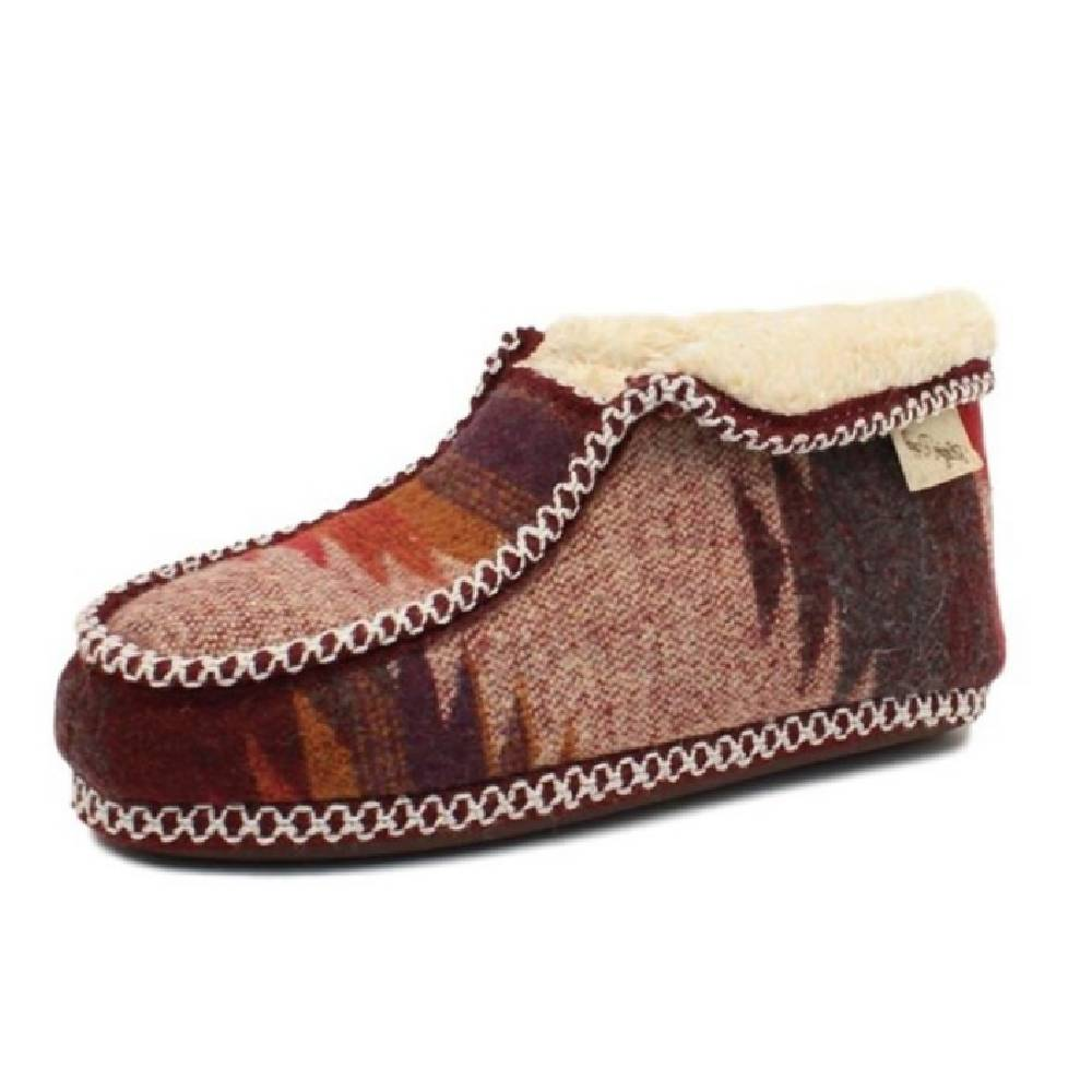 Blazin Roxx Dana Fur Ankle Slipper WOMEN - Footwear - Casuals M&F Western Products Teskeys