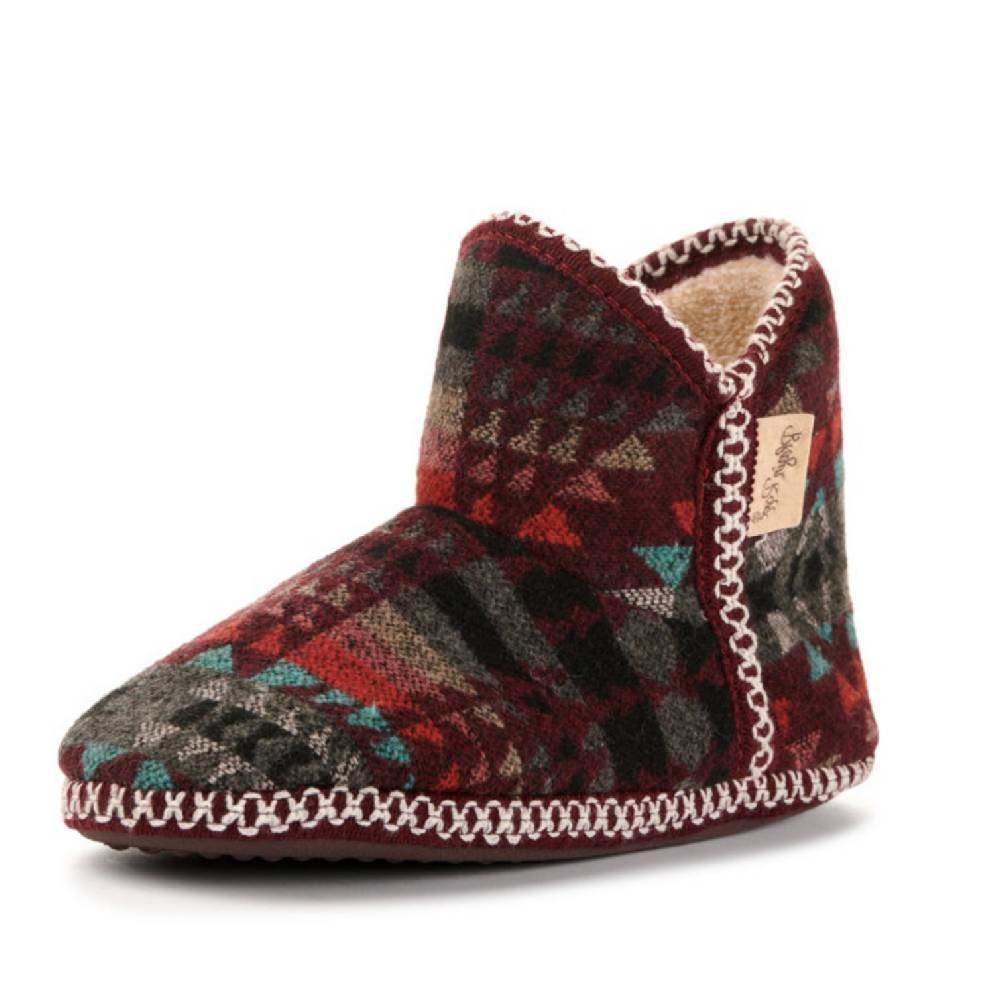 Blazin Roxx Kai Fur Ankle Slipper WOMEN - Footwear - Casuals M&F Western Products Teskeys