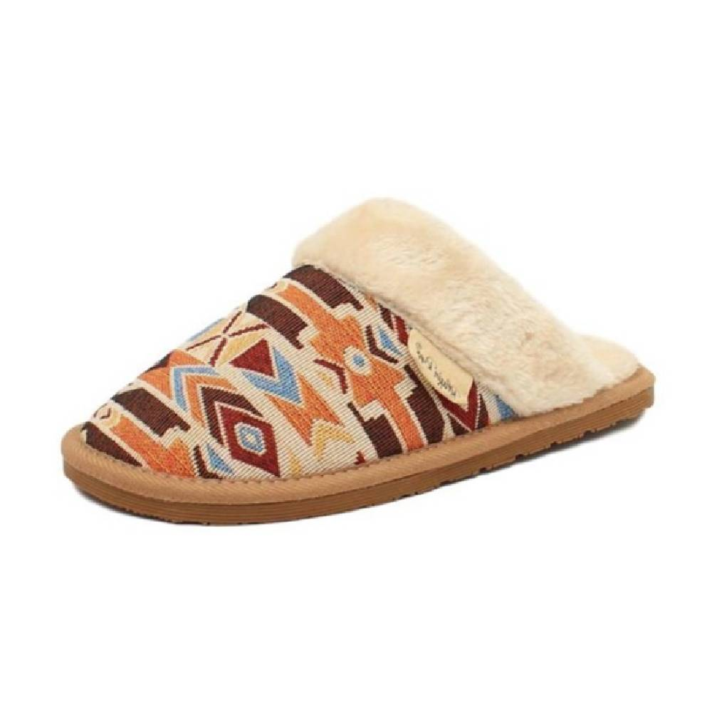 Blazin Roxx Mika Fur Slipper WOMEN - Footwear - Casuals M&F Western Products Teskeys