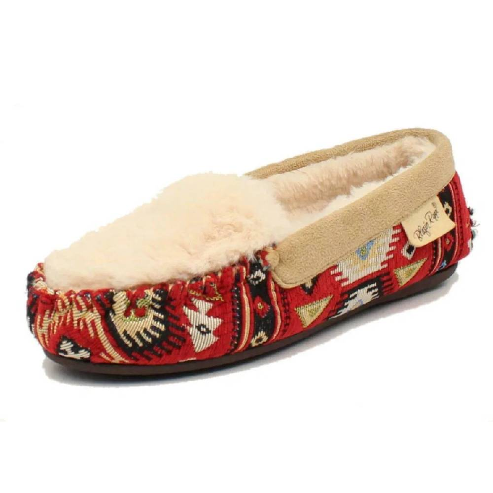 Blazin Roxx Nola Fur Slippers WOMEN - Footwear - Casuals M&F Western Products Teskeys