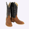 Anderson Bean Saddle Tan Elk Skin Boot MEN - Footwear - Exotic Western Boots ANDERSON BEAN BOOT CO. Teskeys