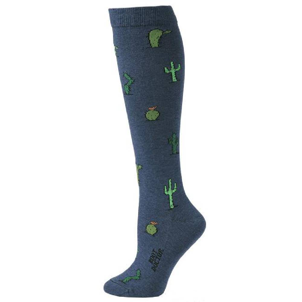 Boot Doctor Over the Calf Cactus Sock WOMEN - Clothing - Intimates & Hosiery M&F Western Products Teskeys