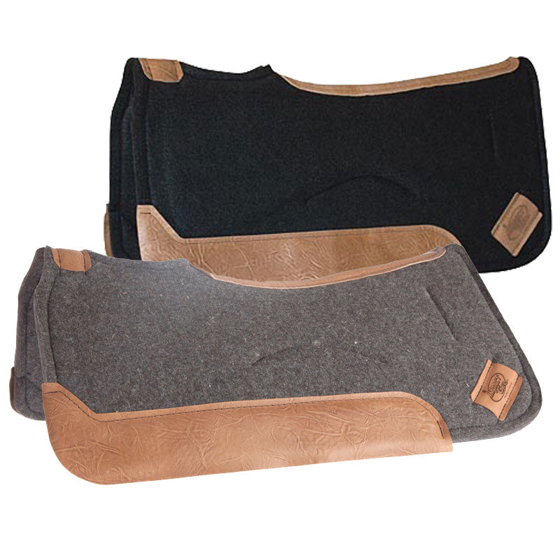 Impact Gel Contoured Saddle Pads Tack - Saddle Pads Impact Gel Teskeys