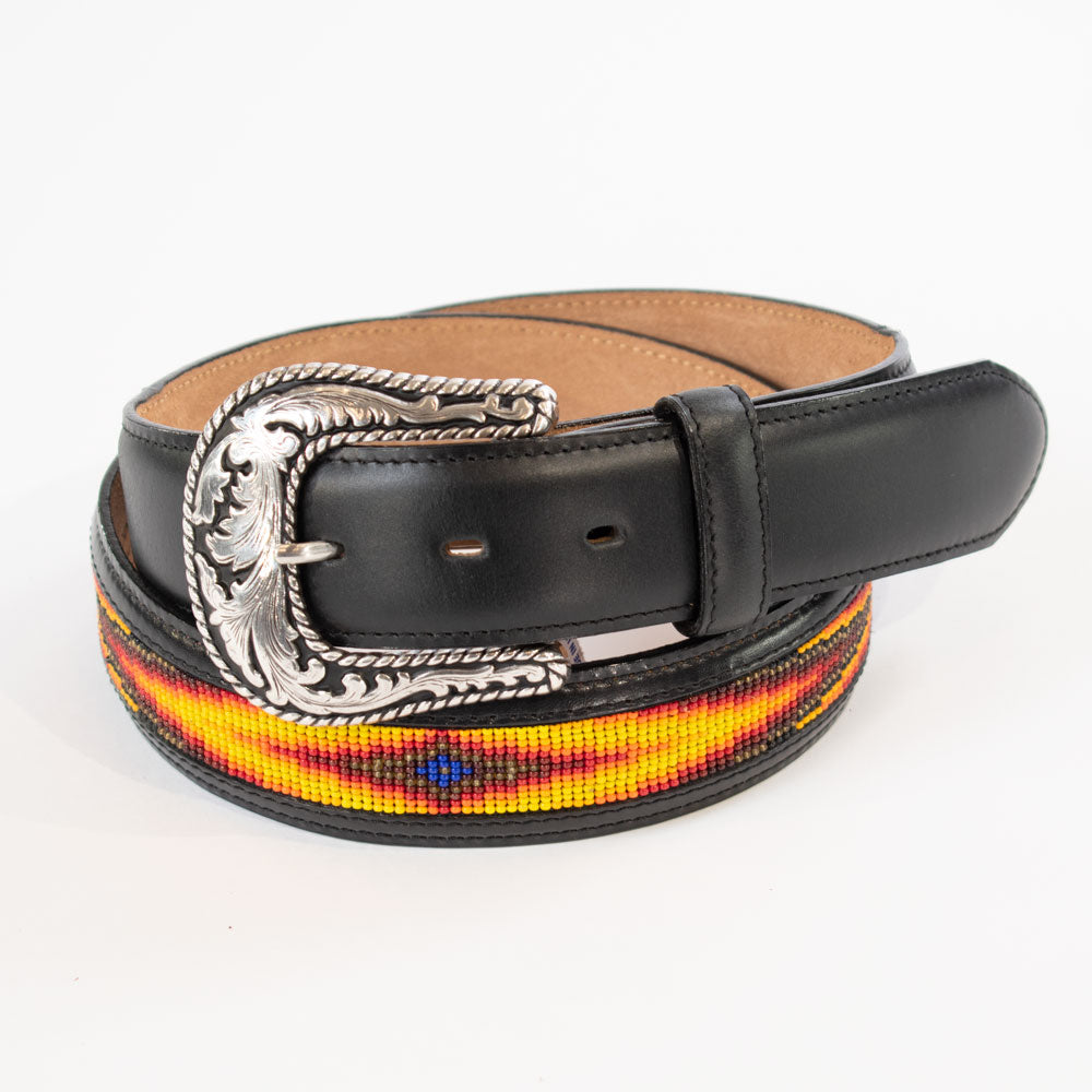 Tony Lama Men's Sonora Beaded Belt MEN - Accessories - Belts & Suspenders LEEGIN CREATIVE LEATHER Teskeys