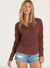 Any Day Long Sleeve Top WOMEN - Clothing - Tops - Long Sleeved BILLABONG Teskeys