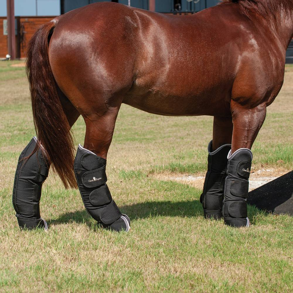 Classic Equine Shipping Boots Tack - Leg Protection - Rehab & Travel Classic Equine Teskeys