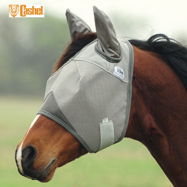 Cashel Crusader Fly Mask w/Ears Farm & Ranch - Animal Care - Equine - Fly & Insect Control Cashel Teskeys