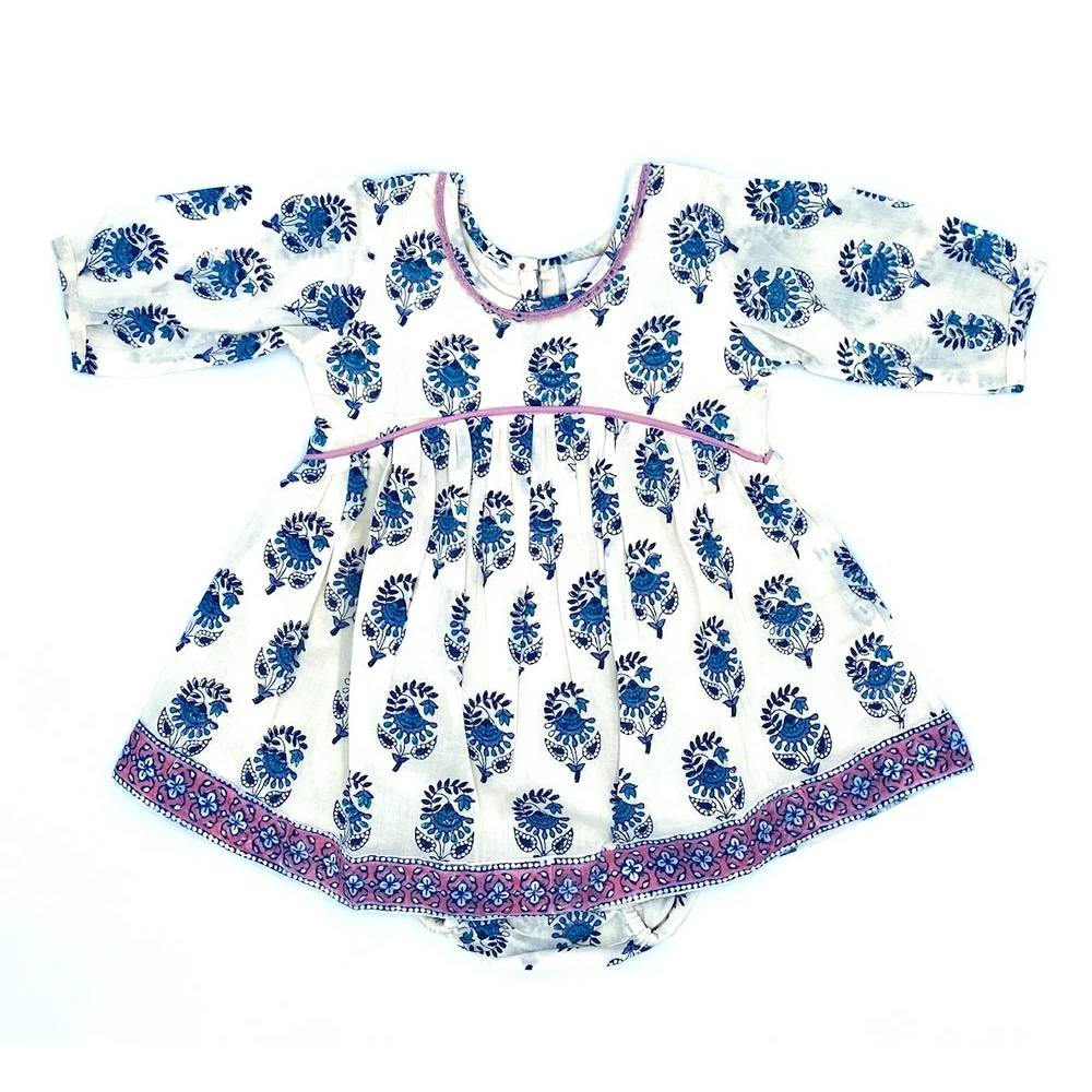 Girl's Ava Baby Dress Set KIDS - Baby - Baby Girl Clothing Cheeni Teskeys