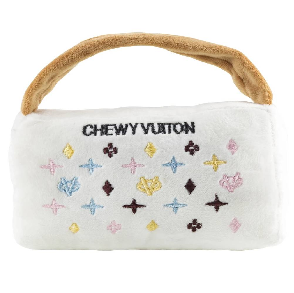 XL Chewy Vuiton Purse Dog Toy FARM & RANCH - Animal Care - Pets - Toys & Treats HAUTE DIGGITY DOG Teskeys