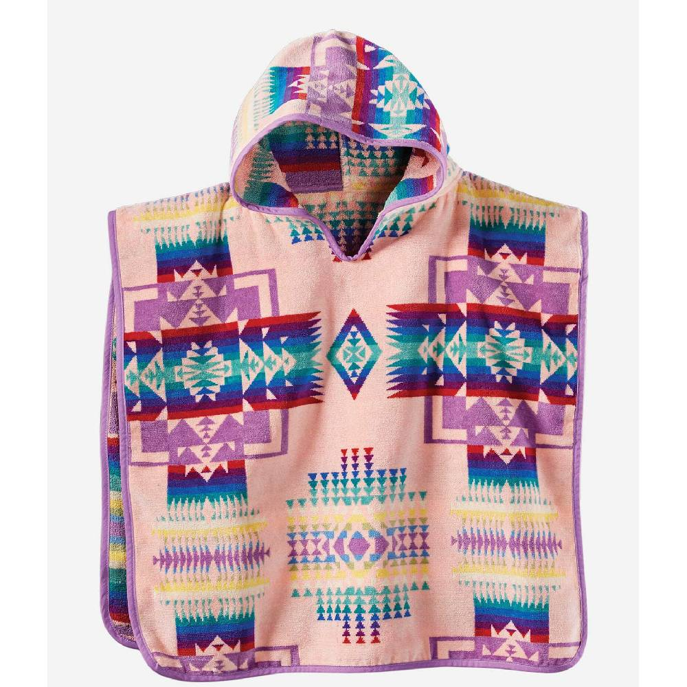 Pendleton Kid's Chief Joseph Hooded Towel - Pink