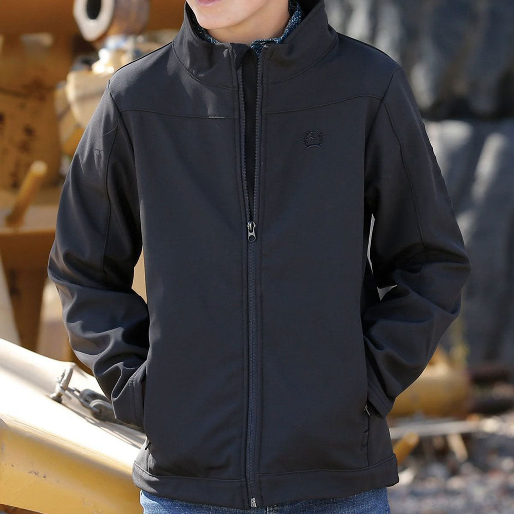 Cinch Boy's Black Bonded Jacket KIDS - Boys - Clothing - Outerwear - Jackets CINCH Teskeys