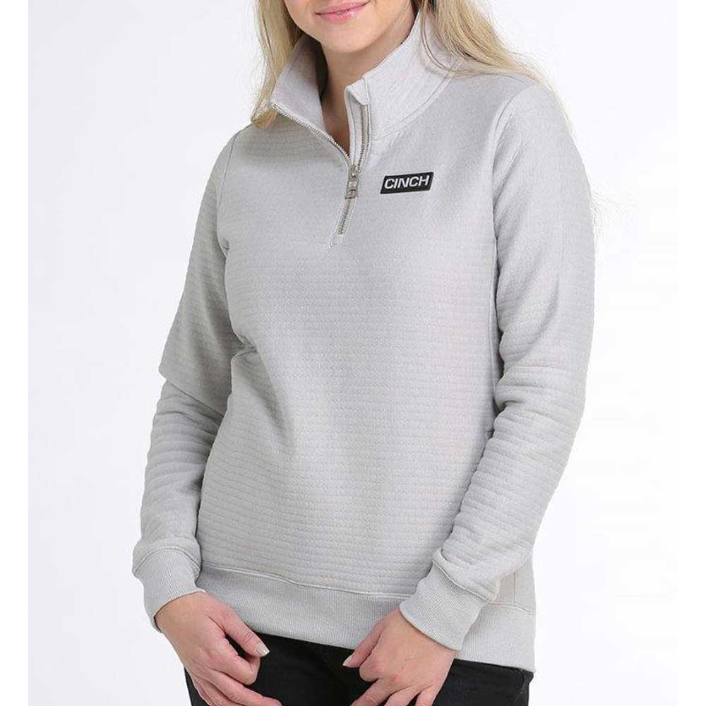 Cinch Grey 1/4 Zip Pullover