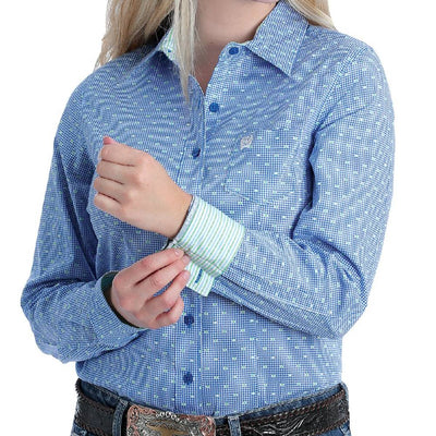 Cinch Women's Print Button Up Shirt WOMEN - Clothing - Tops - Long Sleeved CINCH Teskeys