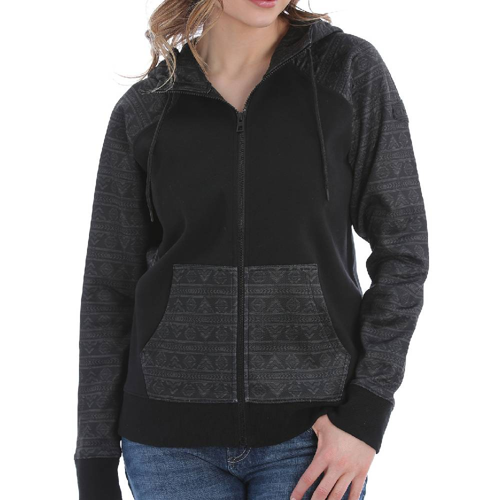 Cinch Women's Full Zip  Raglan Sleeve Jacket