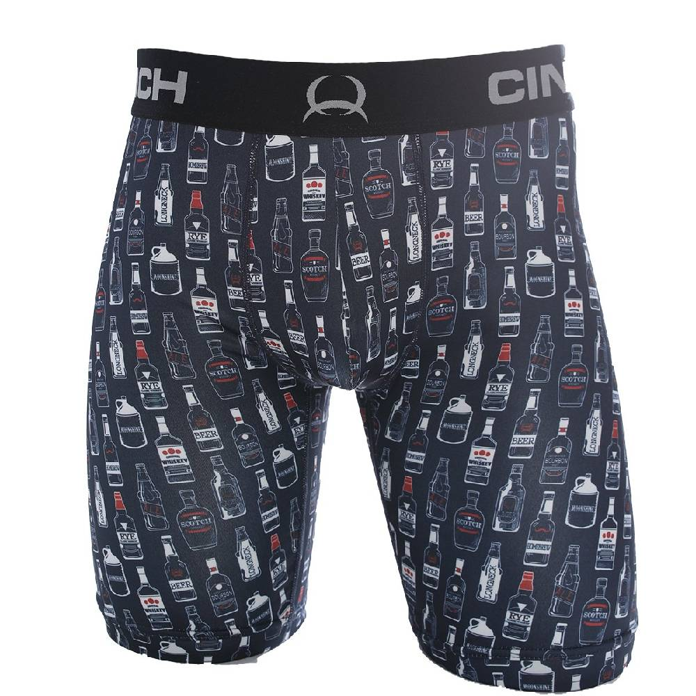 "Cinch 9"" Liquor Boxer Brief MEN - Clothing - Underwear & Socks CINCH Teskeys"