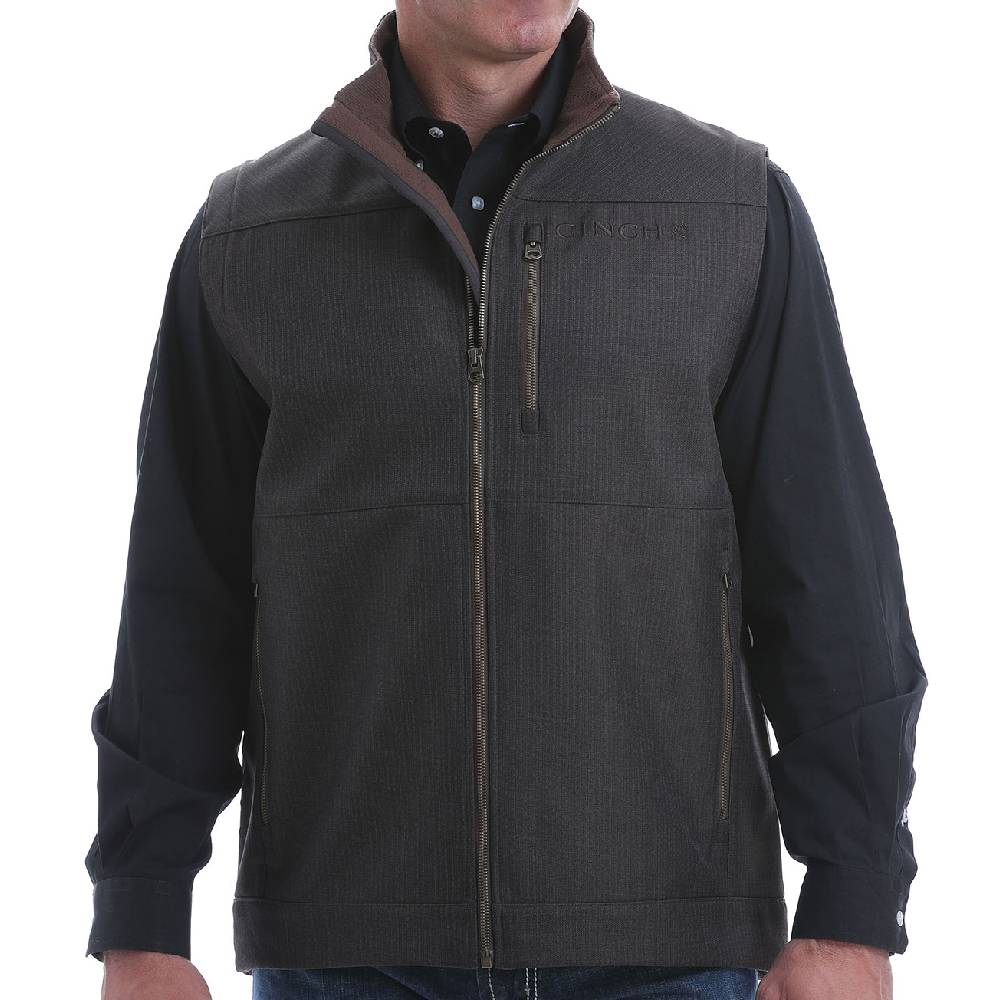 Cinch Men's Bonded Vest MEN - Clothing - Outerwear - Vests CINCH Teskeys