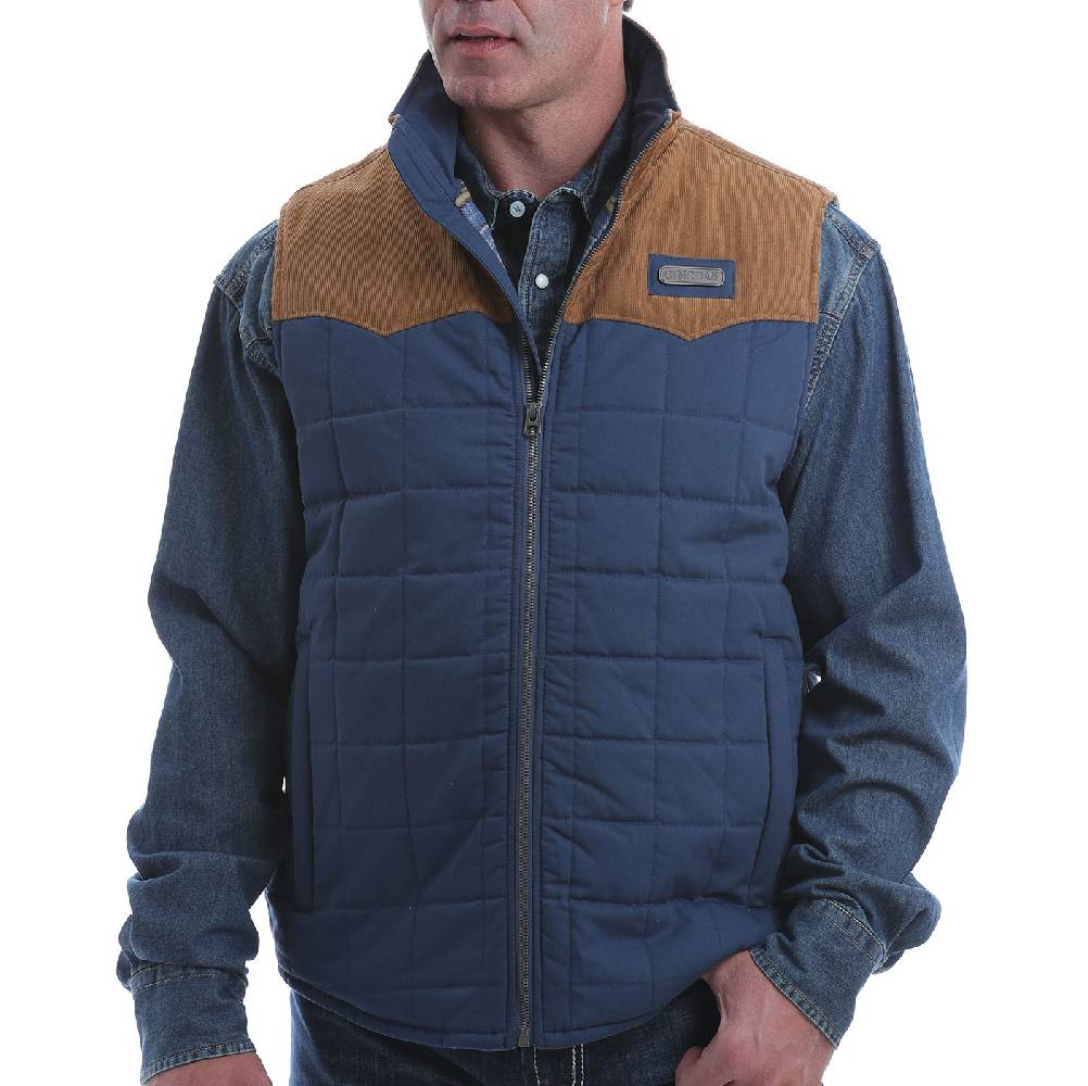 Cinch Men's Quilted Vest MEN - Clothing - Outerwear - Vests CINCH Teskeys