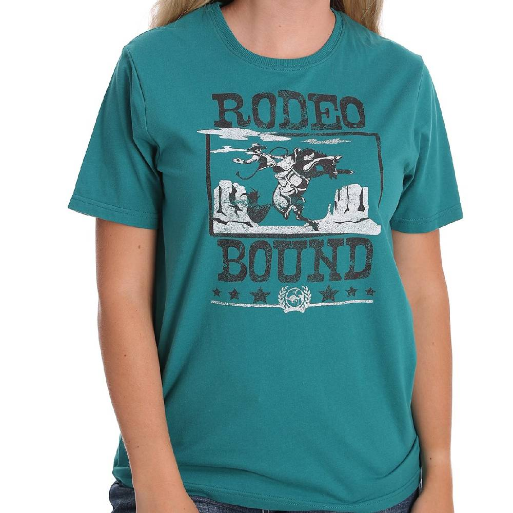 Cinch Women's Rodeo Bound Graphic Tee WOMEN - Clothing - Tops - Short Sleeved CINCH Teskeys