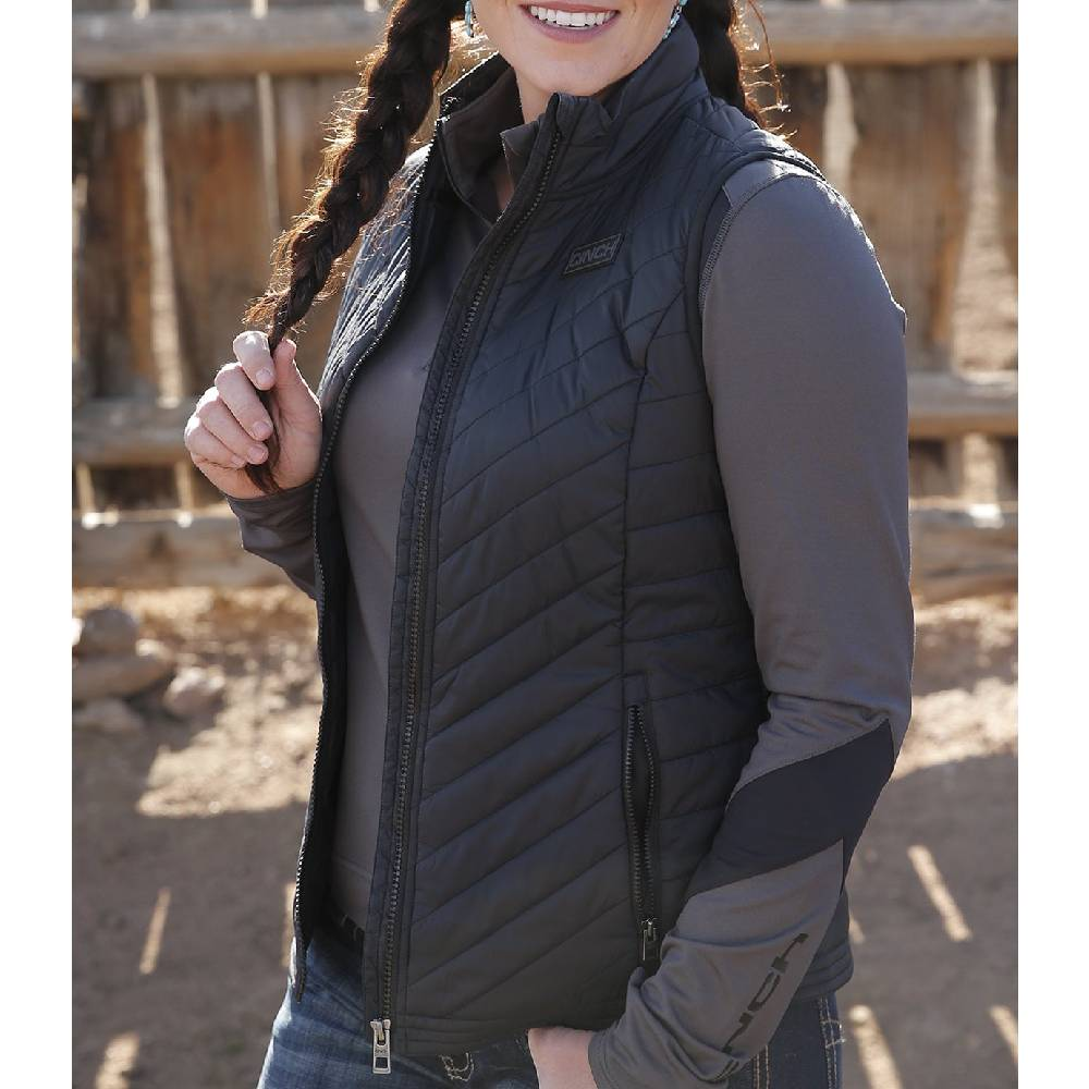 Cinch Women's Quilted Vest WOMEN - Clothing - Outerwear - Vests CINCH Teskeys