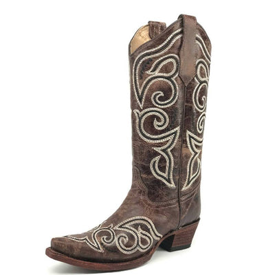 Circle G Embroidery Boot WOMEN - Footwear - Boots - Fashion Boots CORRAL BOOTS Teskeys