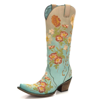 Corral Floral Embroidered Boot WOMEN - Footwear - Boots - Fashion Boots CORRAL BOOTS Teskeys
