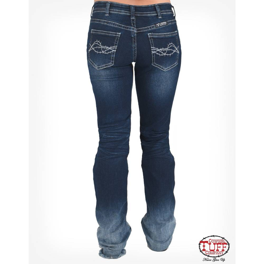 Cowgirl Tuff Just Take A Dip Jean WOMEN - Clothing - Jeans COWGIRL TUFF CO. Teskeys