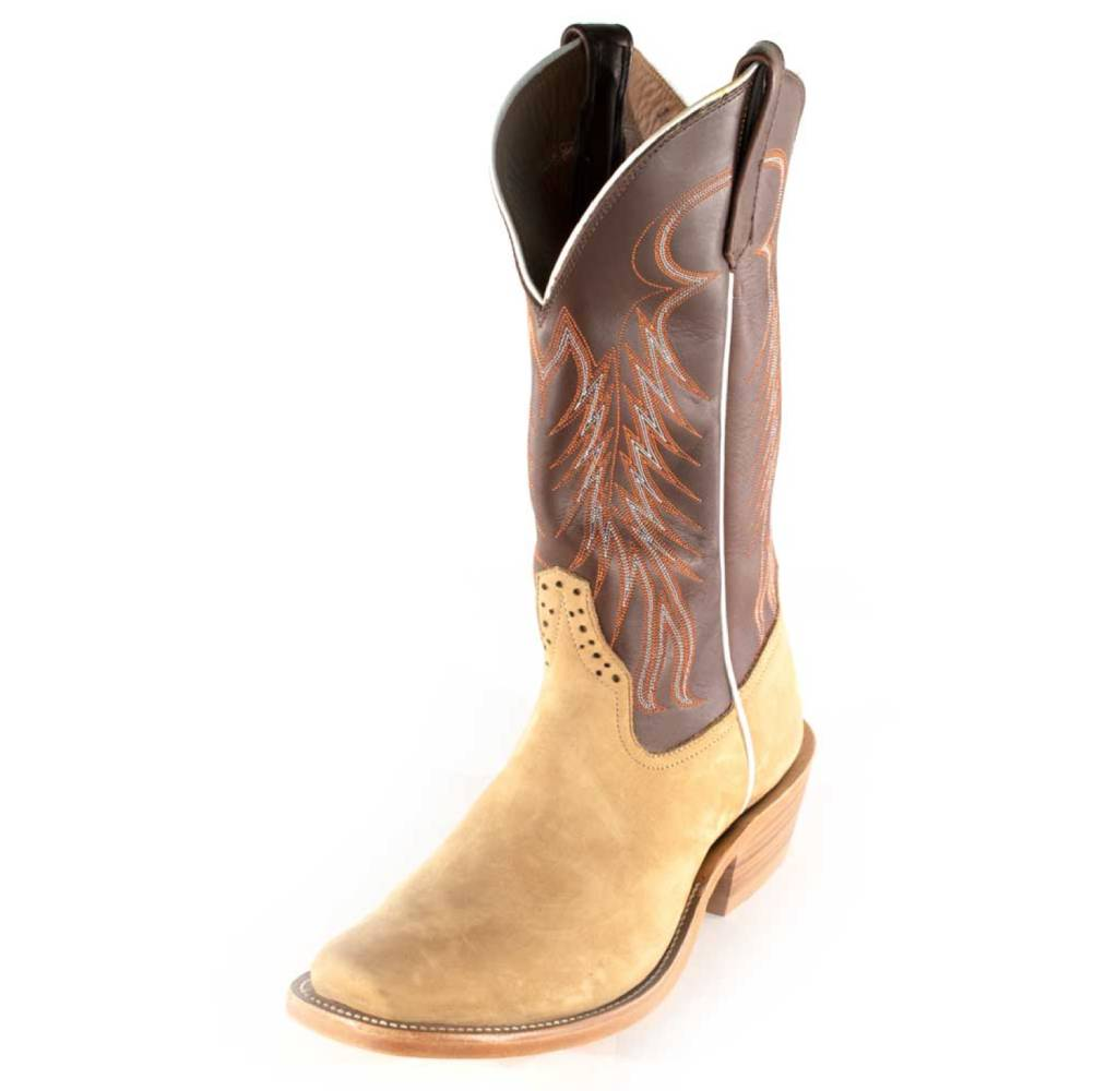 Rios Of Mercedes Crazyhorse Boot MEN - Footwear - Exotic Western Boots RIOS OF MERCEDES BOOT CO. Teskeys