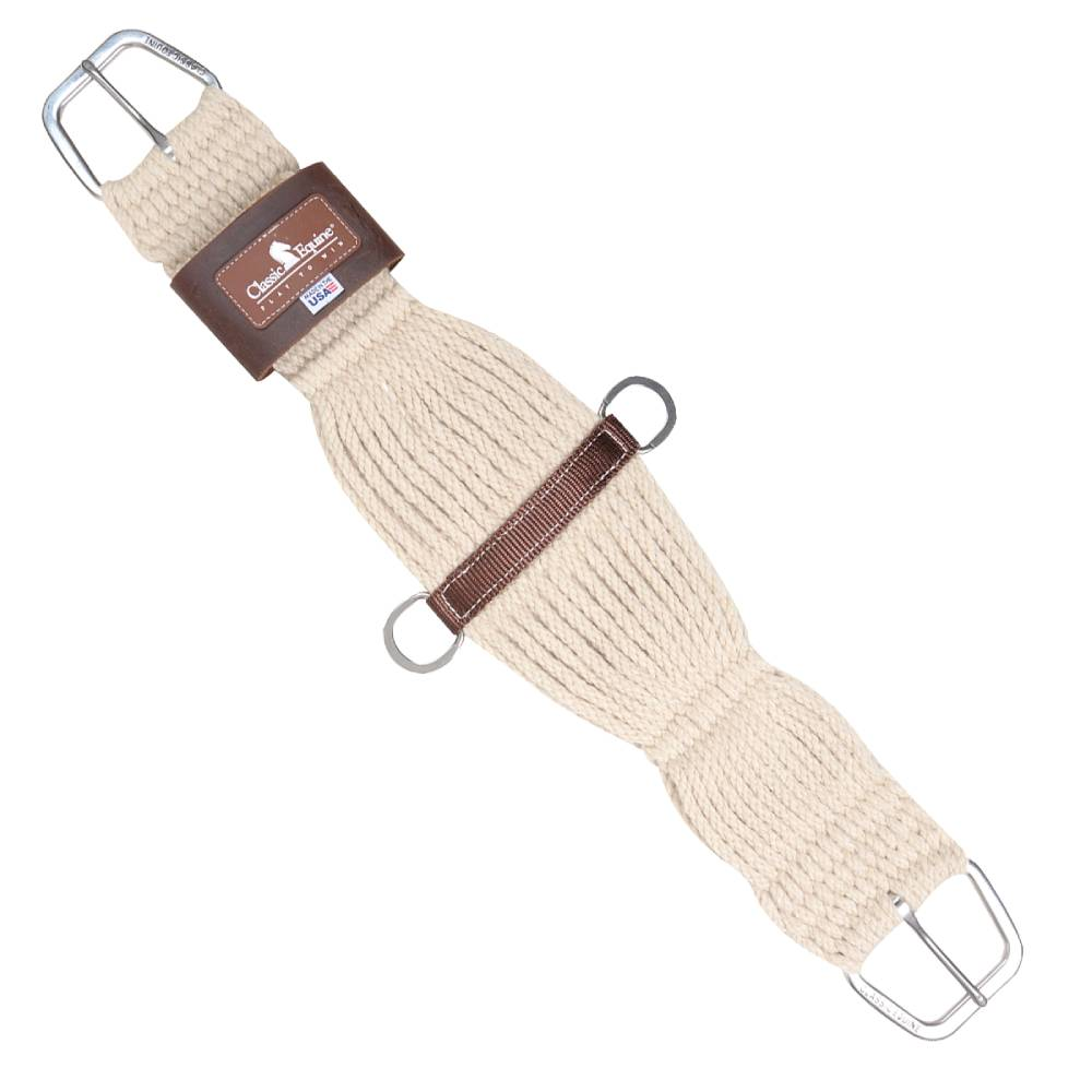 Classic Equine Blended Mohair Roper Cinch Tack - Cinches Classic Equine Teskeys