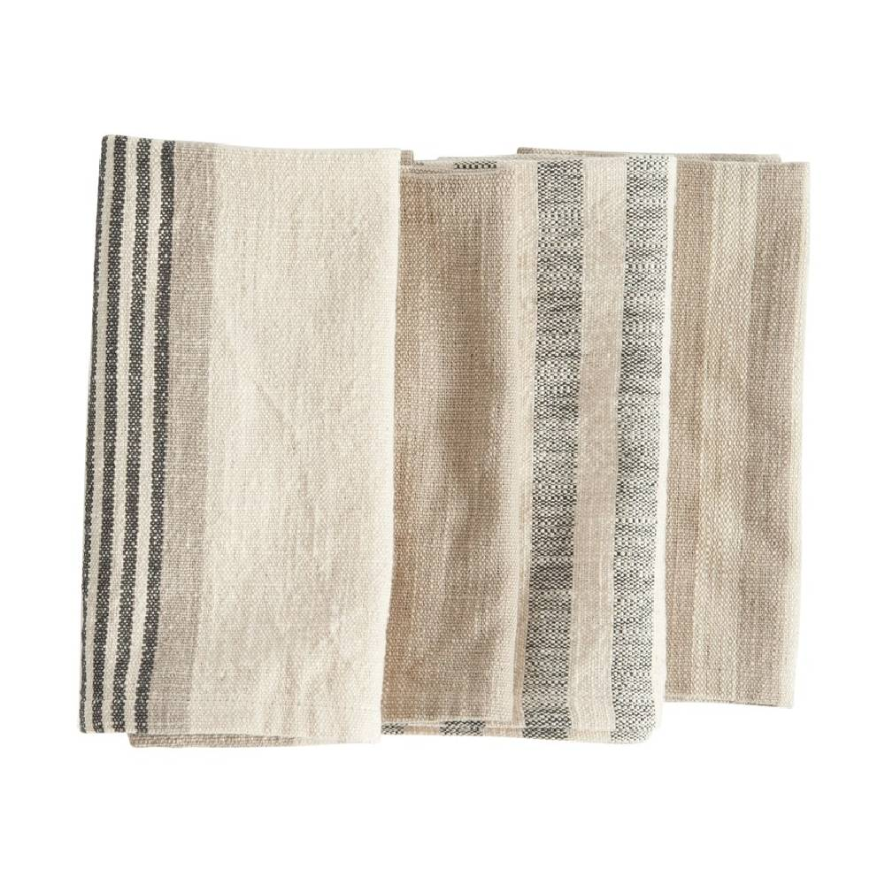 Square Woven Napkins - Set of 4 HOME & GIFTS - Tabletop + Kitchen - Kitchen Decor Creative Co-Op Teskeys