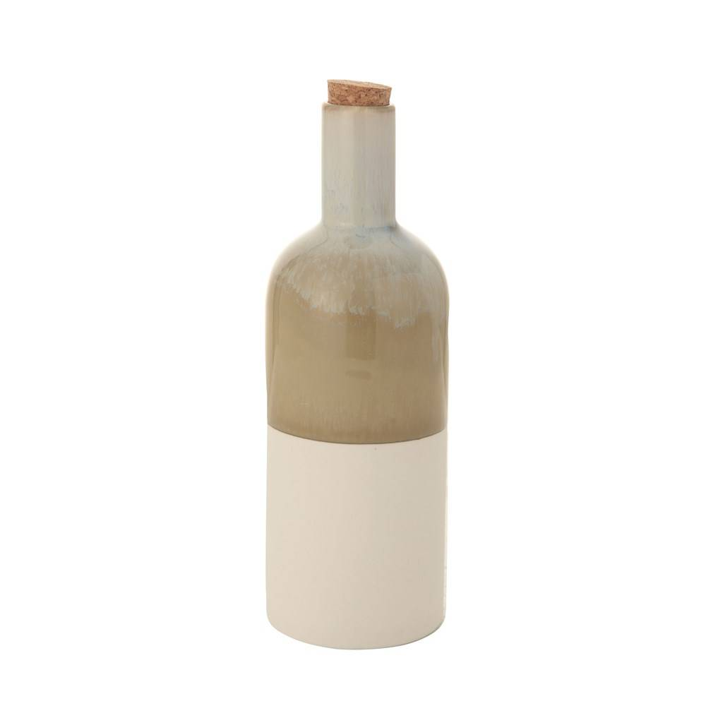 Corked Ceramic Bottle HOME & GIFTS - Home Decor - Decorative Accents Creative Co-Op Teskeys