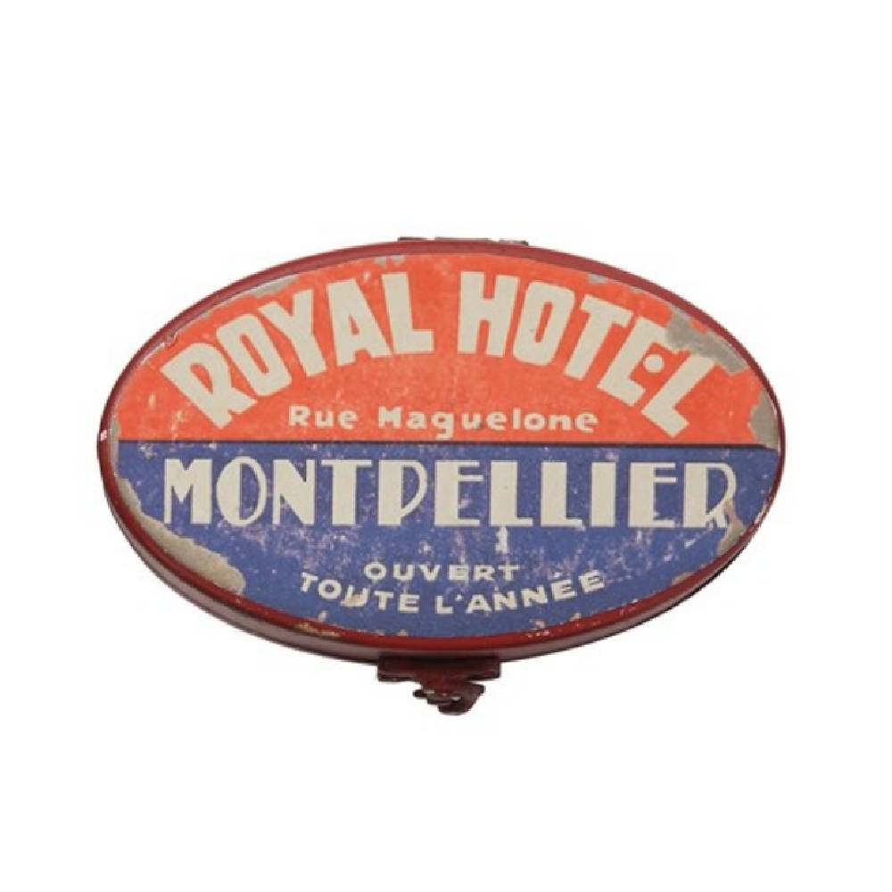 Royal Hotel Decorative Metal Box HOME & GIFTS - Home Decor - Decorative Accents Creative Co-Op Teskeys