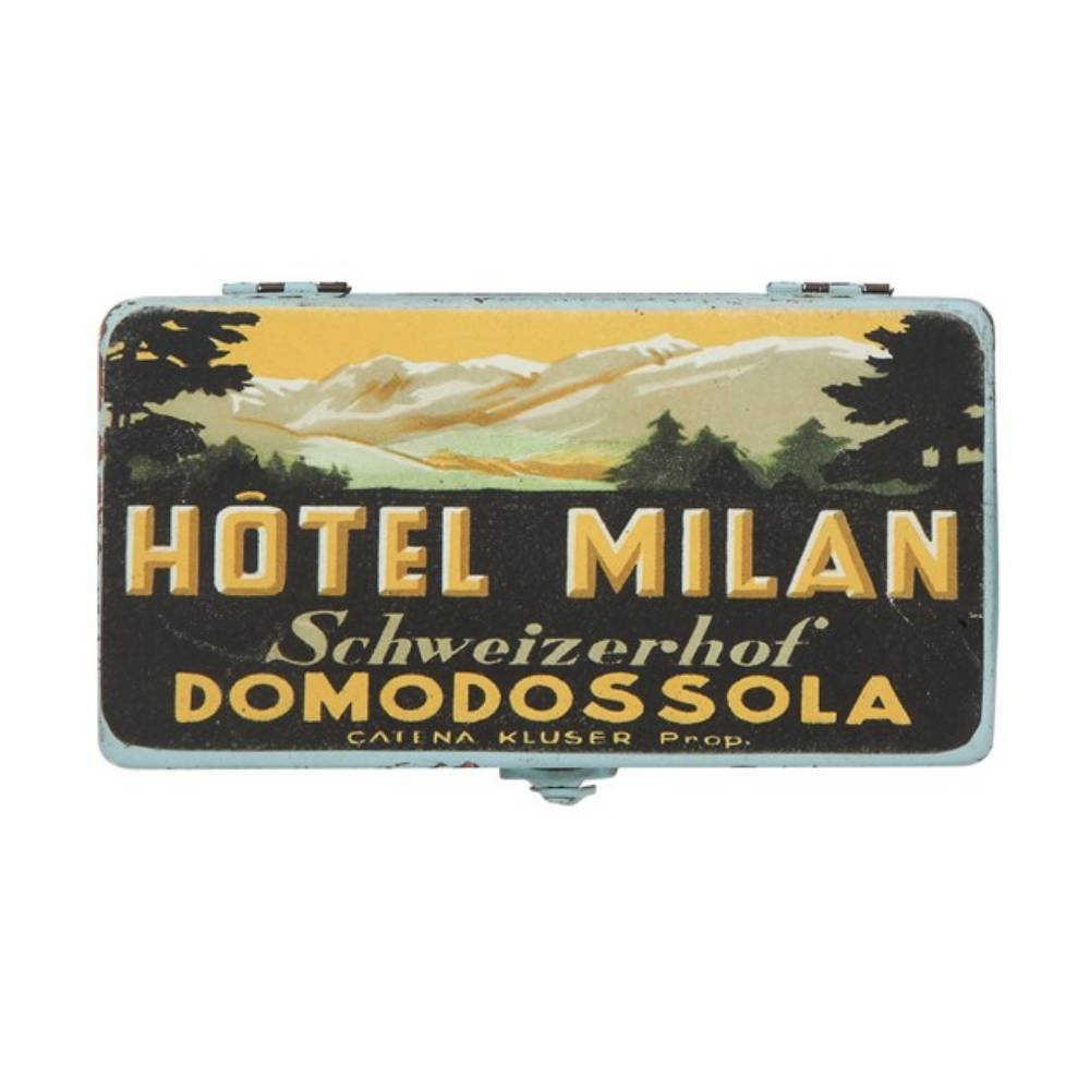 Hotel Milan Decorative Metal Box HOME & GIFTS - Home Decor - Decorative Accents Creative Co-Op Teskeys