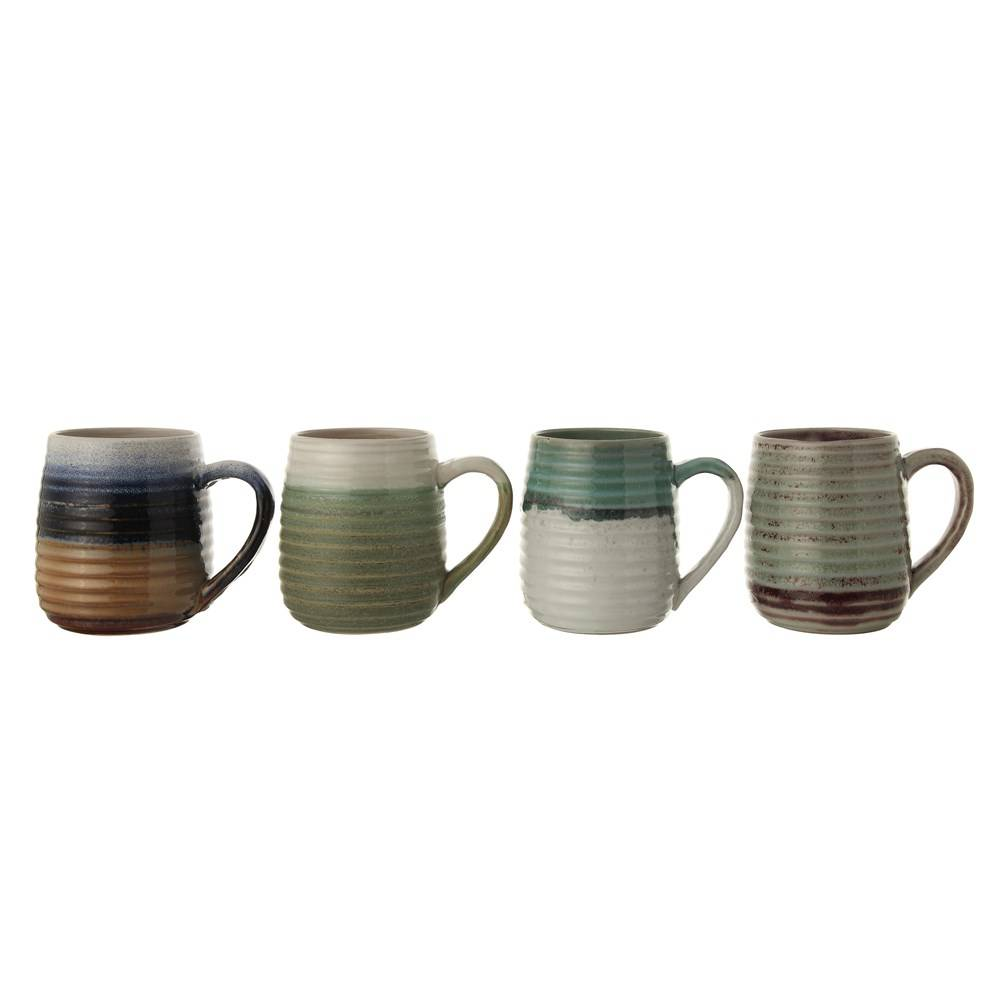 16oz Glazed Stoneware Mug Home & Gifts - Tabletop + Kitchen - Drinkware + Glassware Creative Co-Op Teskeys