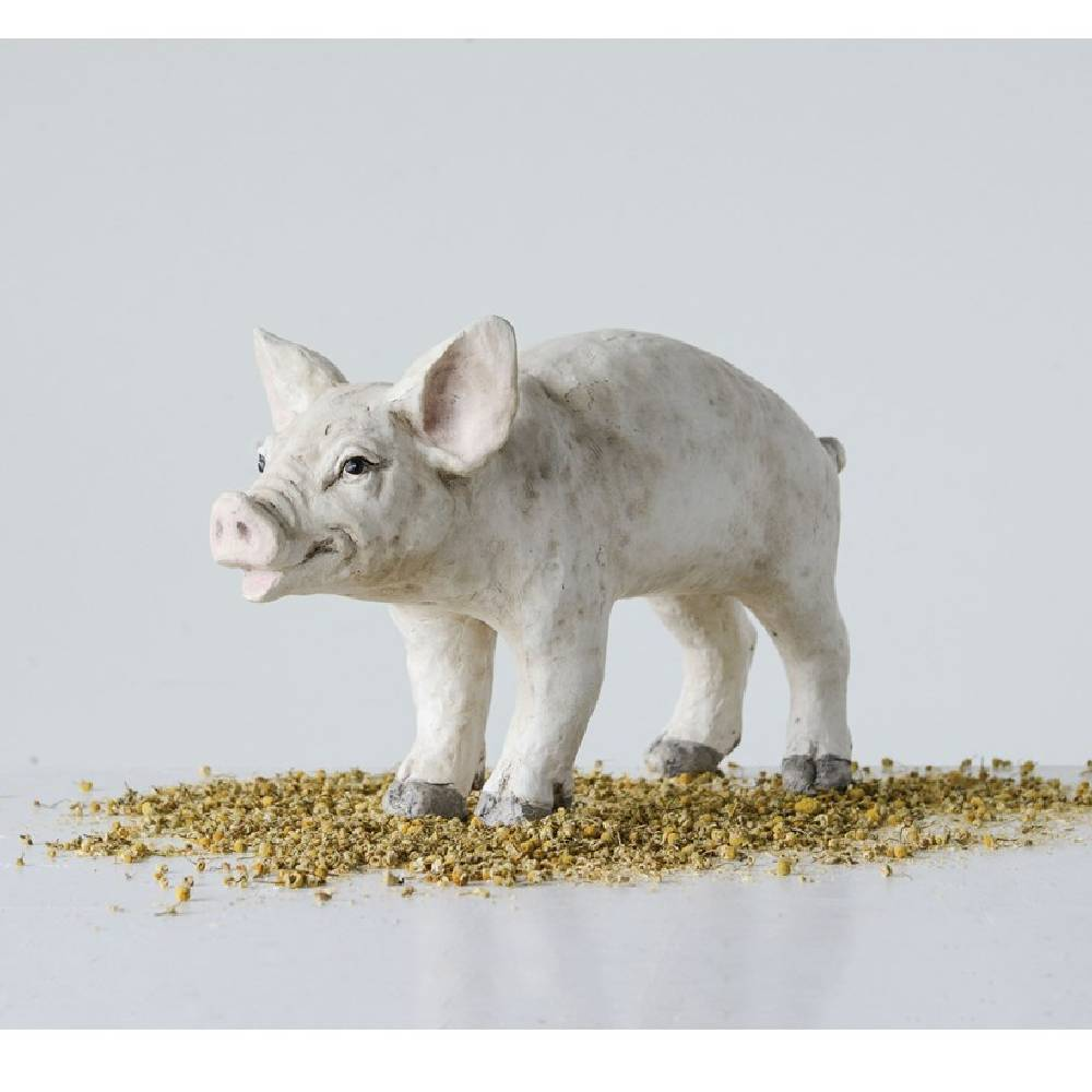 Resin Pig HOME & GIFTS - Home Decor - Decorative Accents Creative Co-Op Teskeys