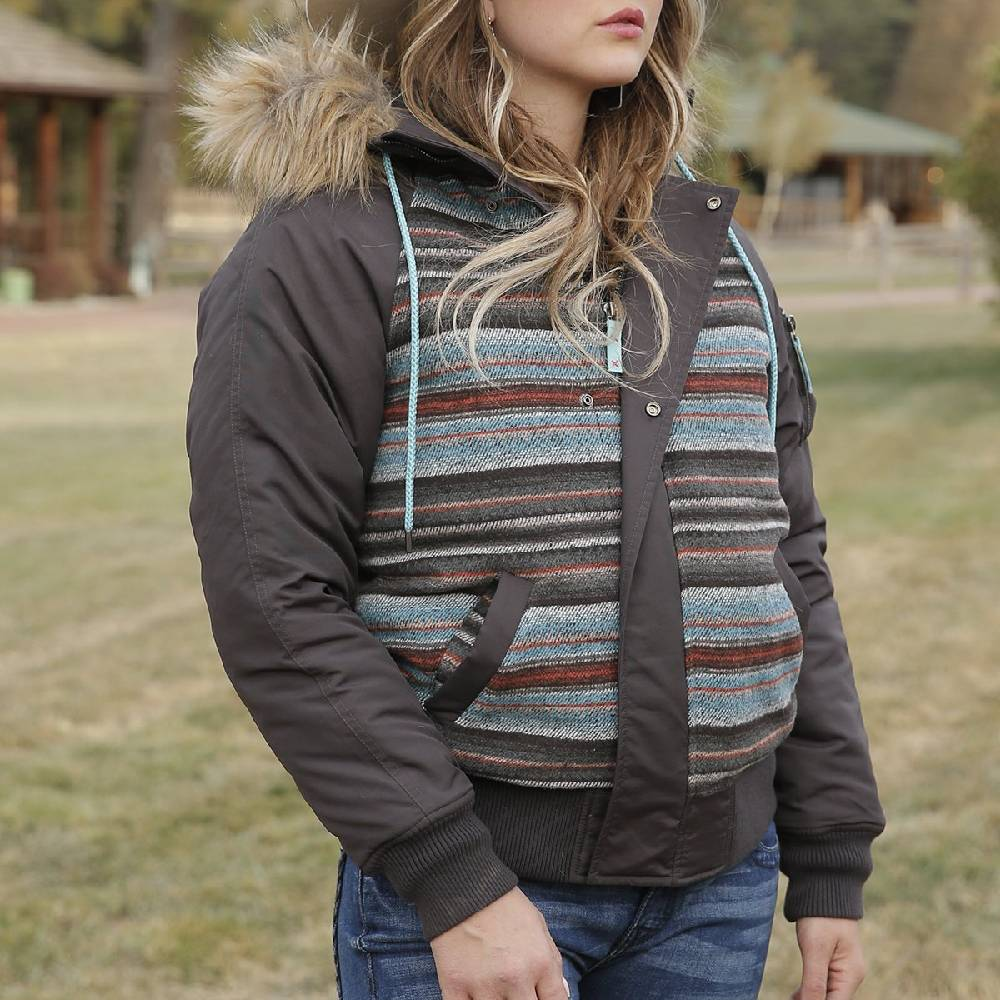 Cruel Denim Women's Serape Flight Jacket WOMEN - Clothing - Outerwear - Jackets Cruel Denim Teskeys