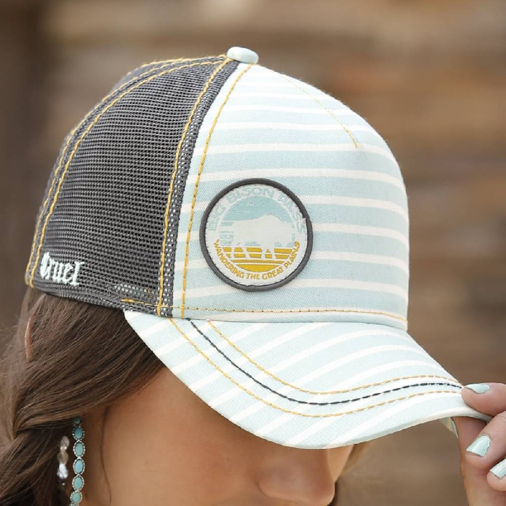 Cruel Denim Trucker Cap WOMEN - Accessories - Caps, Hats & Fedoras CINCH Teskeys
