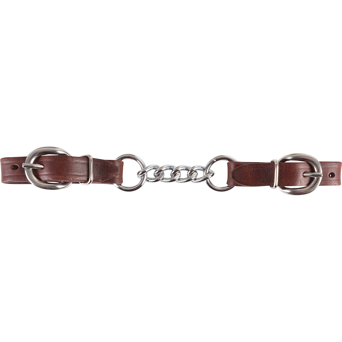 Martin Saddlery 4 Link Latigo Leather Curb Strap Tack - Bits, Spurs & Curbs - Curbs Martin Saddlery Teskeys