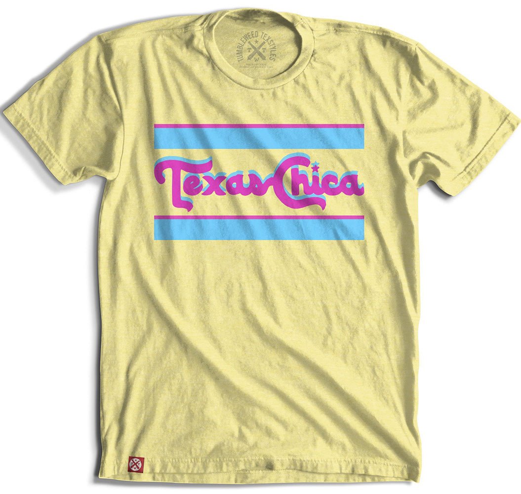Retro Texas Chica Tee WOMEN - Clothing - Tops - Short Sleeved TUMBLEWEED TEXSTYLES Teskeys