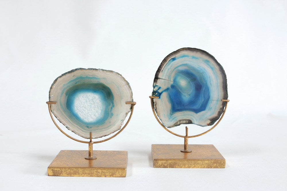Agate Decor on Stand Home & Gifts - Home Decor - Decorative Accents Creative Co-op Teskeys