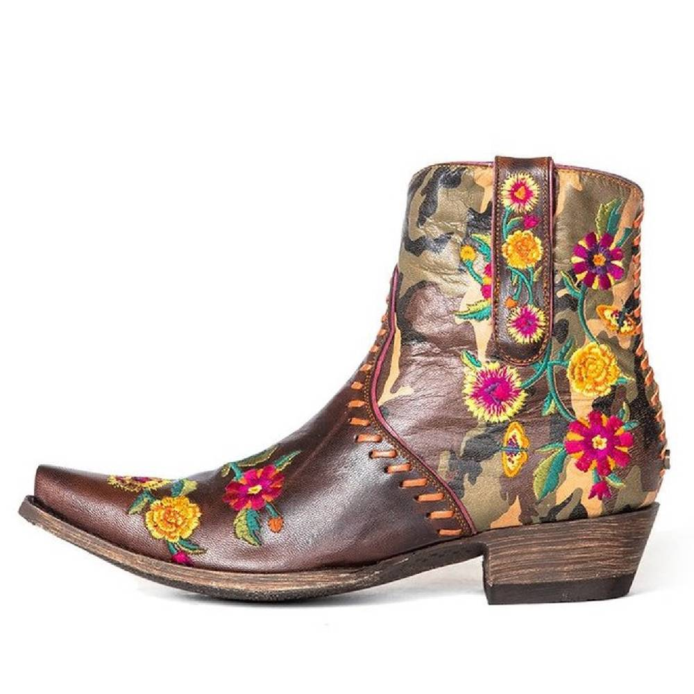 Double D Ranch Cosmic Camo Bootie WOMEN - Footwear - Boots - Booties OLD GRINGO Teskeys
